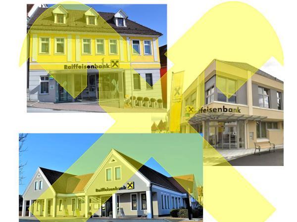 Bankstellen der Raiffeienbank Pischelsdorf-Stubenberg