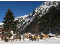 Winter in der Naturpark und Gletscherregion Kaunertal