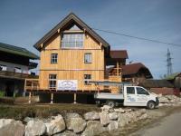 Sanierung Wohnhaus - Lärchenholzfassade