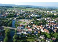 Überblick auf Wieselburg