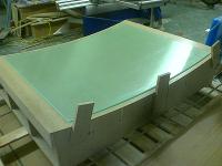 Warm verformtes Acrylglas