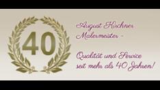 AUGUST KIRCHNER MALERMEISTER