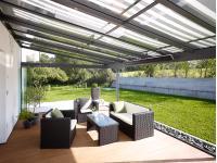 Sommergärten und Terrassendächer