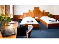 Zweibettzimmer im Hotel Paradies