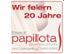 20 Jahre Friseur Papillota