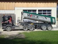 Wex Mathias Transporte - Erdbau Wurzelstockfräsen