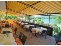 Sonnenterrasse vom Restaurant Seehof