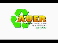 Herzlich willkommen bei AUER ABFALLWIRTSCHAFT GmbH