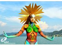 Bodypainting am Wörthersee