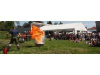 Brandschutzschulung/-vorführung