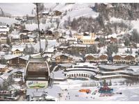 Ort Bad Kleinkirchheim im Winter