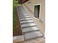 Granit Außenstufen