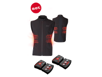 Set of heat vest 1.0 + lithium pack rcB 1800