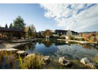 Gartenlandschaft im Garten-Hotel Ochensberger
