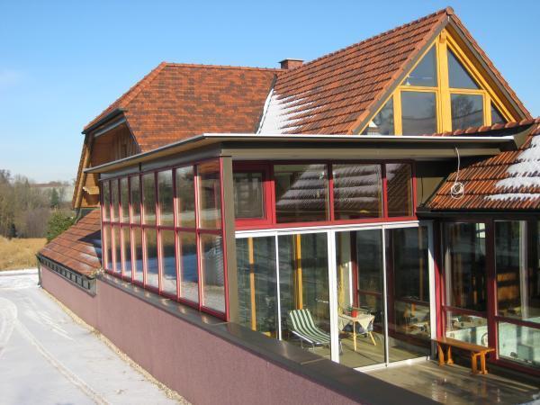 Schachner Wintergarten Holz -Alu