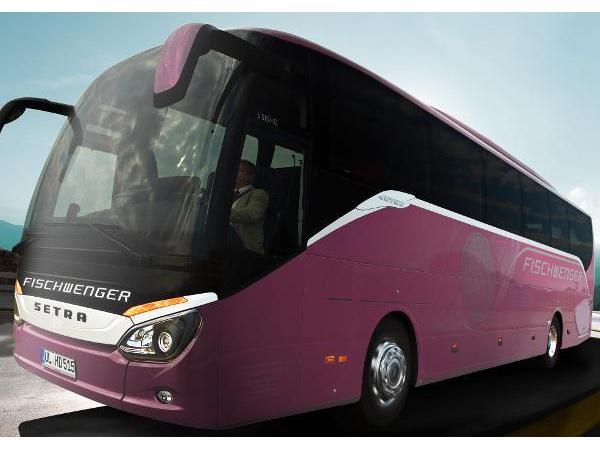 Neuester Luxusreisebus: SETRA 500 comfort