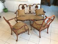 3 teilige Sitzensemble in Chippendale Stil Sitzensemble