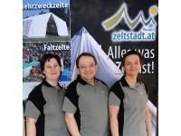 Das Team von zeltstadt.at