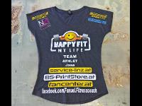 Beflockung von Sponsor-Shirts