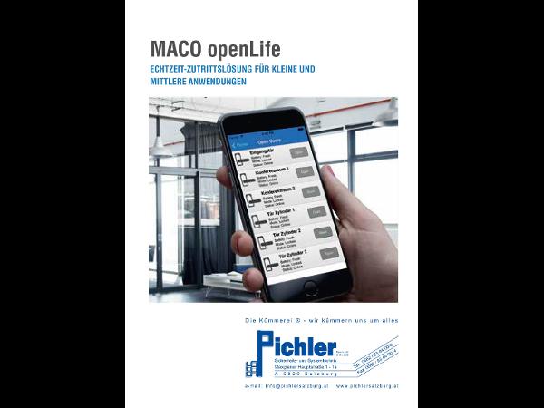 openLife - smarte Zutrittslösung für Privat & Gewerbe