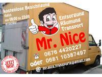 Mister Nice - Entsorgung-Räumung-Transport WIEN UND UMGEBUNG