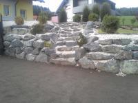 Steinschlichtung