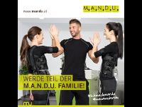 Werde Teil der M.A.N.D.U. Familie