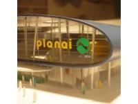 Architekturmodell Talstation Planai