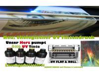 NEU: UV Tinten Druck auf Rolle und Platten