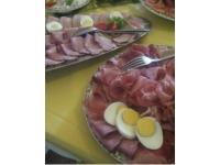 Bauernbuffet am Tisch