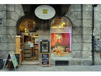 Eingang zum House of Tea & Coffee in Innsbruck