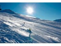 Traumhafte Pisten im Skigebiet SEE