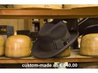 handgefertigter Herrenhut - dieses Modell ab €840,00