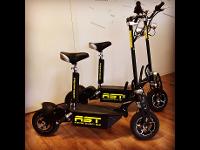 Elektro-Scooter branden für AST-Security