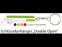 "Schlüsselanhänger ""Double Open"""
