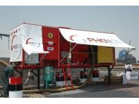 Transportable Strahlmittel Rücksaug- und Wiederaufbereitungsanlagen