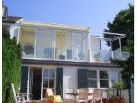 Dachterrassenverbau mit Beschattung