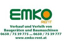 EMKO - Verkauf u. Verleih von Baumaschinen u. Baugeräten