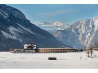 DIE WASNERIN im Winter mit Dachstein