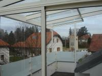 Terrassenüberdachung + Geländer