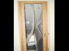 Tür mit Verglasung, handgemachte Innentüren