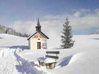 Jufenkapelle im Winter