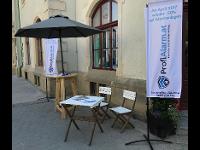 Infostand Alarm-Prevention in Korneuburg