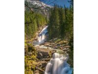 Krimmler Wasserfälle by Peter Kuehnl