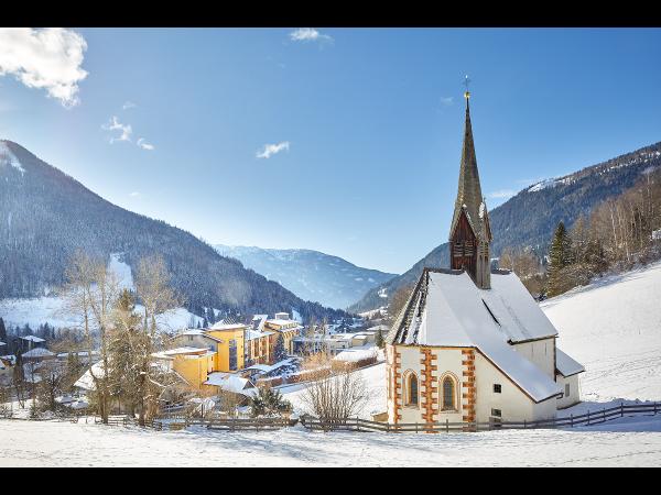 Panoramaausblick im Winter