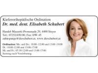 Visitenkarte Schubert