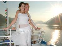 an Bord der MS OSSIACH