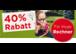Super 40% Sommeraktion bei Böhm Fenster