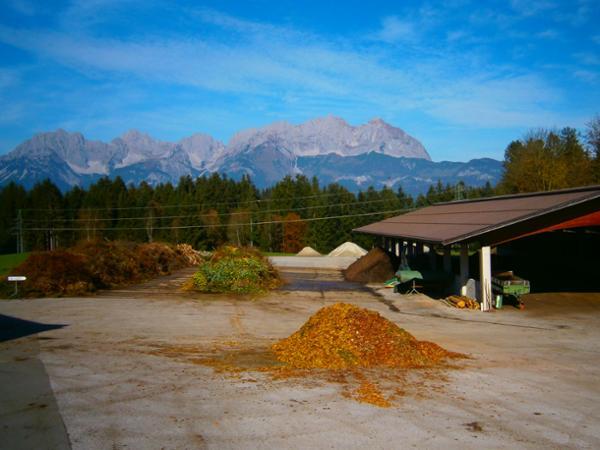 Kompostierung Andreas Berger