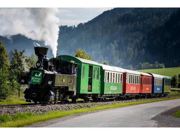 Dampfbummelzug Murtalbahn